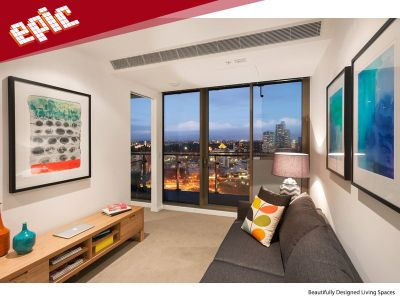 Epic: 19th Floor - Stunning One Bedroom Apartment!