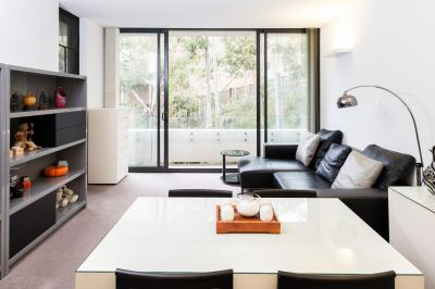 Tranquil apartment offers designer luxury in a private bush setting