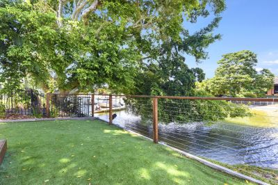 RENOVATED SINGLE LEVEL WATERFRONT HOME