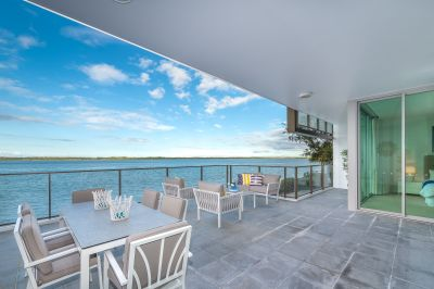 Wide Broadwater Views from Elevated Ground Floor Apartment - Investor Moving On