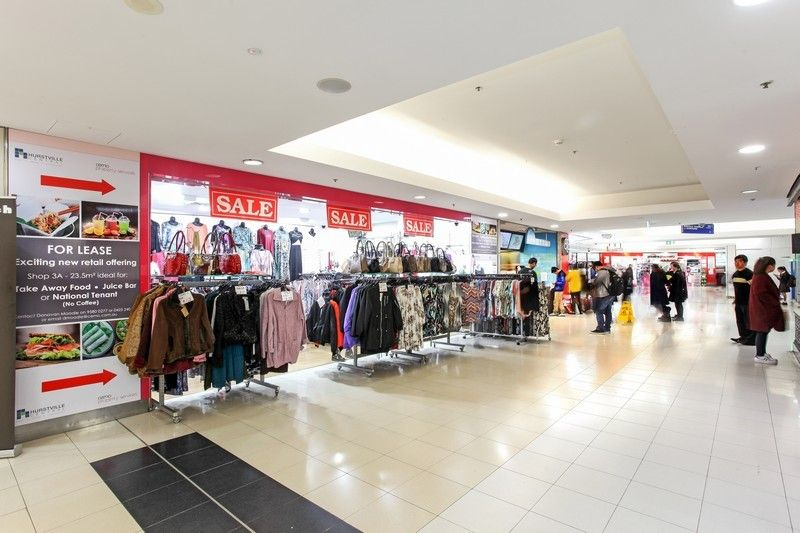 PRIME HIGH FOOT TRAFFIC RETAIL WITHIN SHOPPING CENTRE SUITABLE FOR FOOD! - SHOP 3 LEASED!