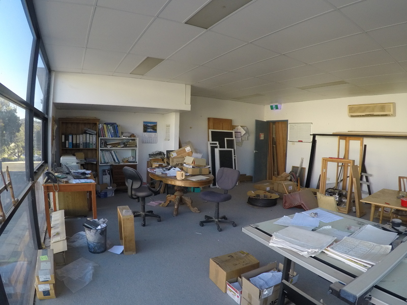 Unique opportunity to lease a functioning Joinery Shop