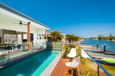 SINGLE LEVEL WATERFRONT HOME