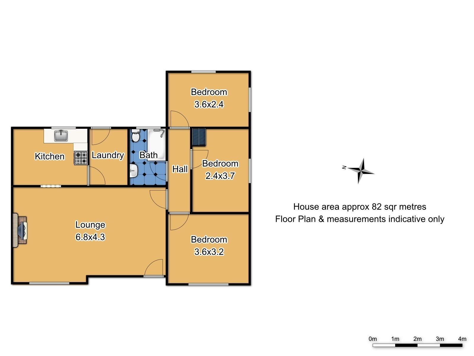 6 Lane Place - Floor Plan