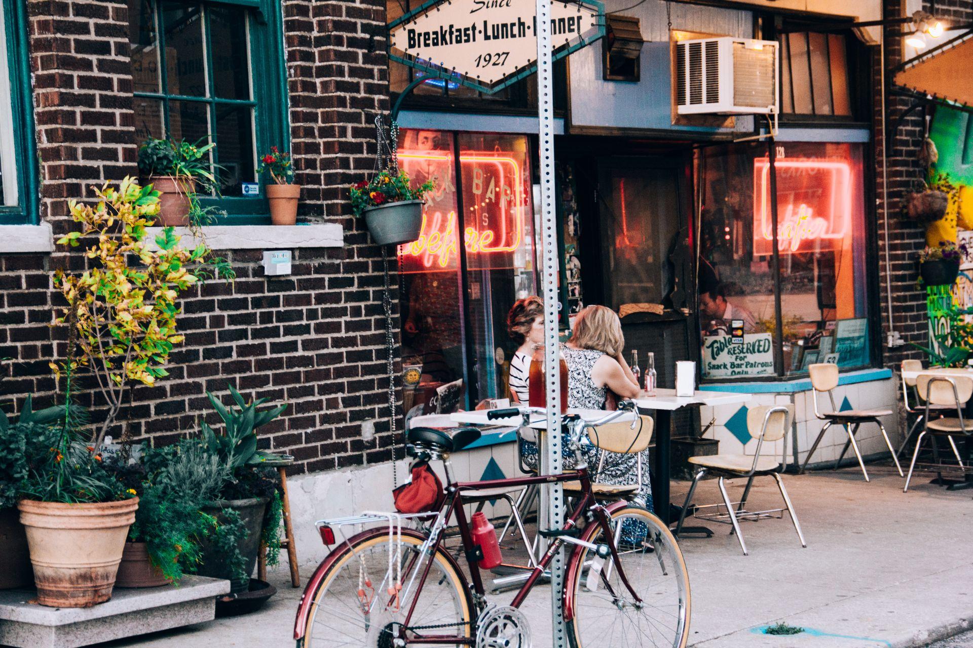 Cafe in Marrickville. Great street corner spot. Low Rent.