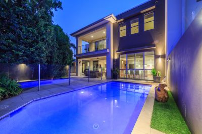PRIVATE EXECUTIVE HOME WITH FOUR CAR GARAGE