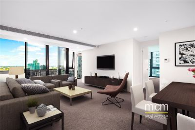 Southbank Grand: Spacious Two Bedroom plus Study Apartment with Carpark and Storage Cage!