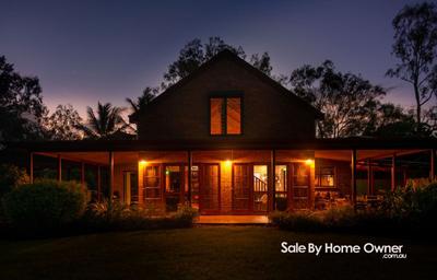 Large Acerage with Hilltop Home