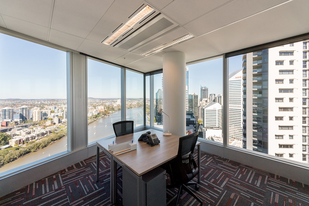 3 person offices with Brisbane River veiws!