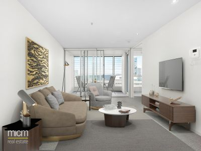 Designer Docklands Style with Sweeping River Views