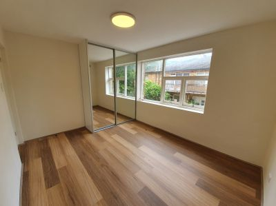 Newly renovated two bedroom unit in quiet location