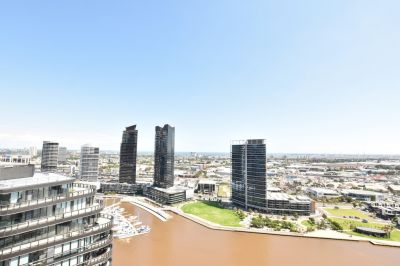 883 Collins: Near New Two Bedroom Apartment in Docklands!