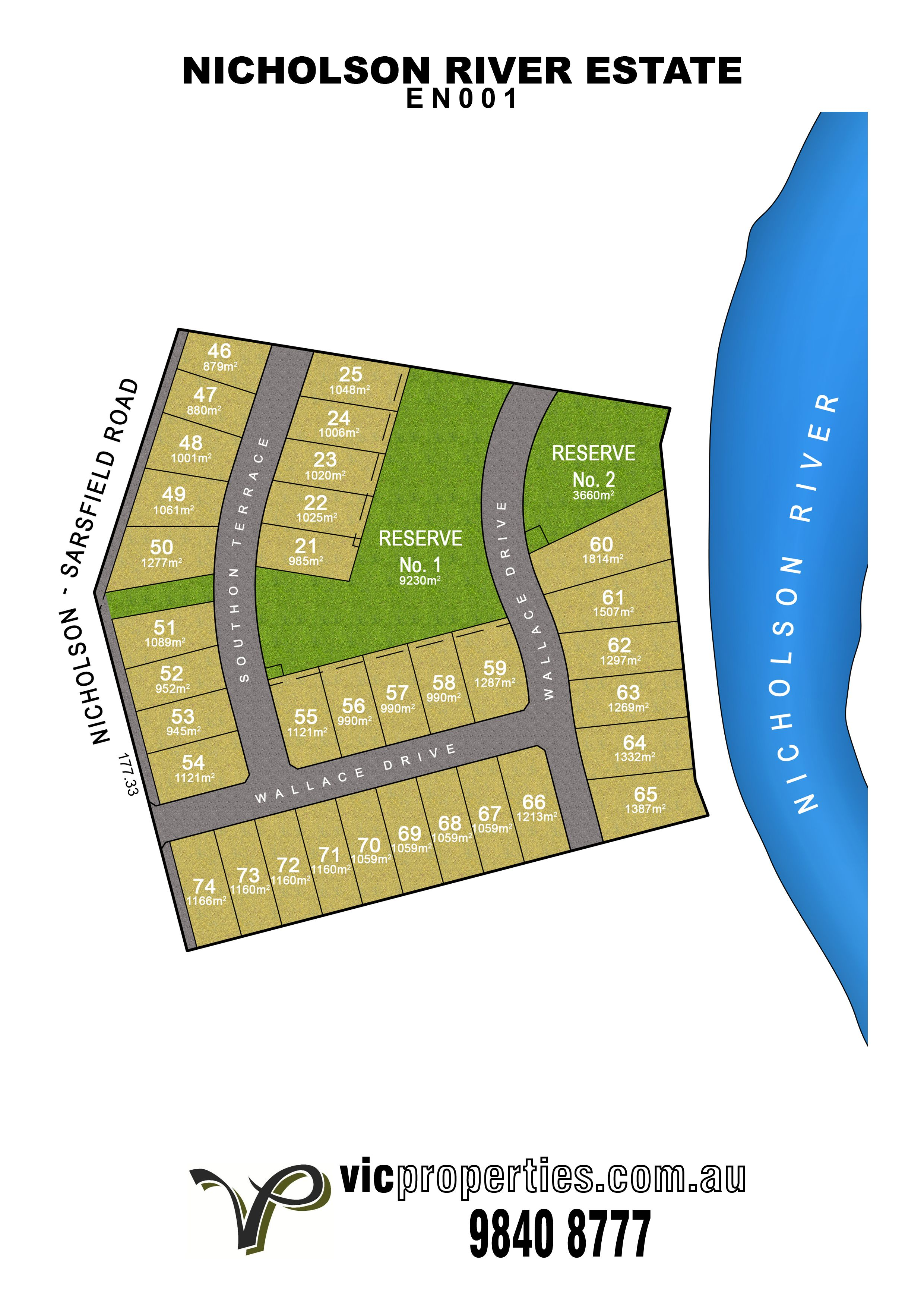 Lot 46/ Southon Terrace, Nicholson VIC 3882