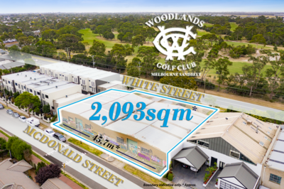 Two Versatile Warehouses opposite Woodlands Golf Course