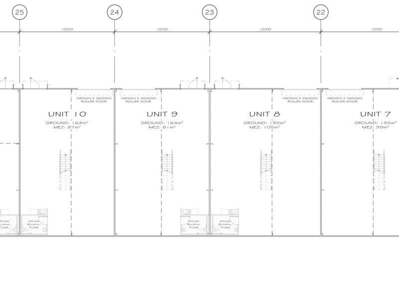 ARCHITECT DESIGN INDUSTRIAL UNITS