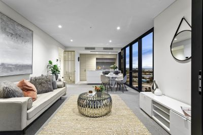 Sublime new corner living at the new 'Voyager at Yarra's Edge.