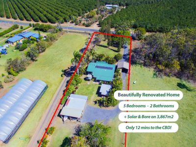 STUNNING FAMILY ACREAGE 12 MINUTES FROM TOWN!! ABSOLUTLEY IMMACULATE….