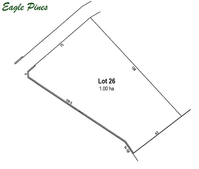 SANDY CREEK - Lot 26 Eagle Pines