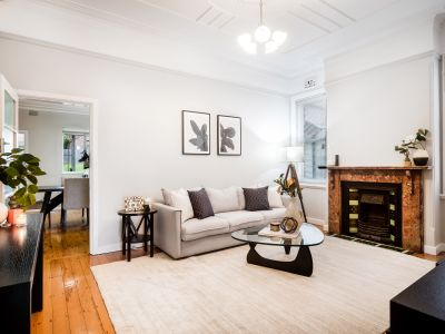 Character, space and style in a blue-ribbon Haberfield location