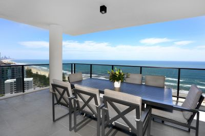 Beachfront luxury apartments with panoramic ocean views