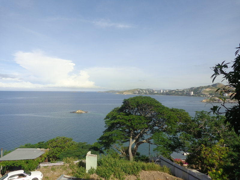 Seaside property with magnificient views