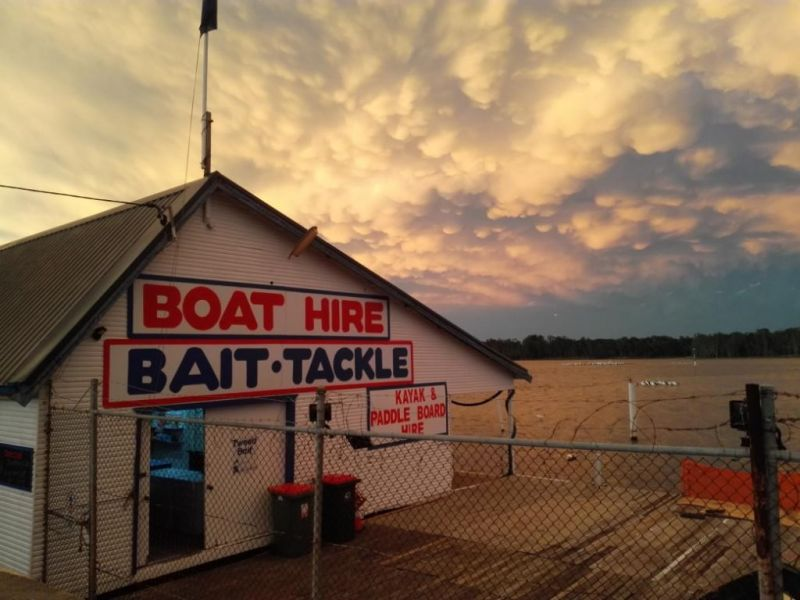 COMMERCIAL PROPERTY WITH CROWN LEASE AND HIRE BUSINESS (THE ENTRANCE BOATSHED)