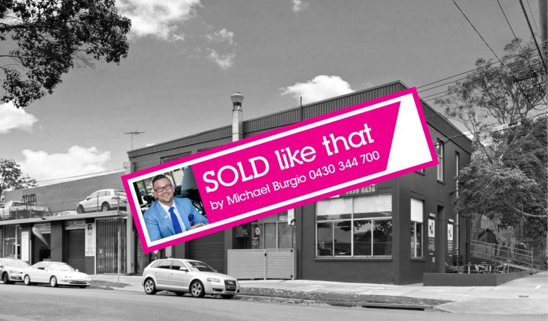 SOLD BY MICHAEL BURGIO 0430 344 700, HOT COMMODITY STRATA FACTORY IN BROOKVALE!