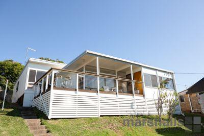 Modern beach house with mid century vibes...