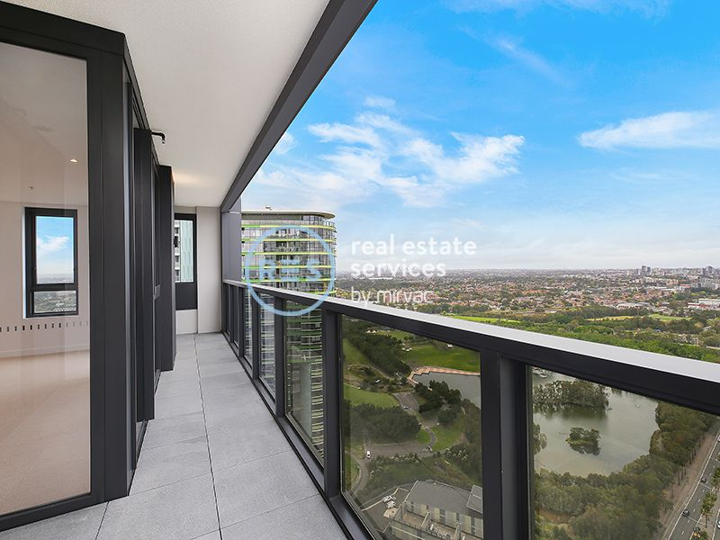 Brand-New, High-Level 2 Bedroom Apartment with Parking in Sydney Olympic park