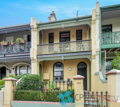 GENEROUS CHARACTER-FILLED VICTORIAN TERRACE IN PREMIER ADDRESS