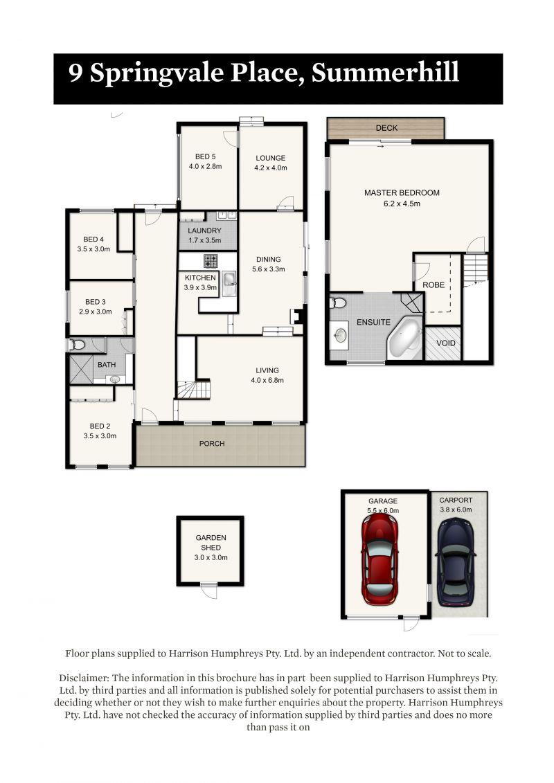 9 Springvale Place Floorplan