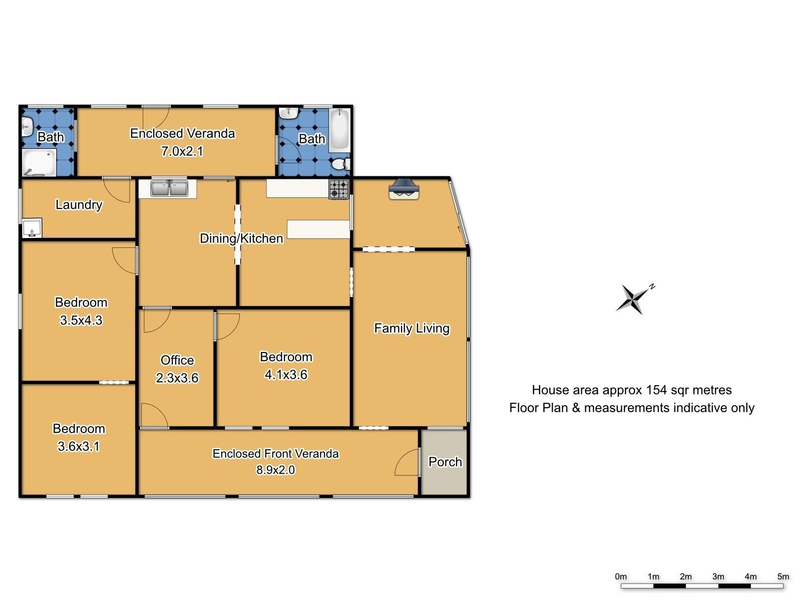 1247 Forest Road - Floor Plan