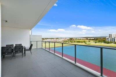 Executive Terrace Apartment with Water and Mountain Views!