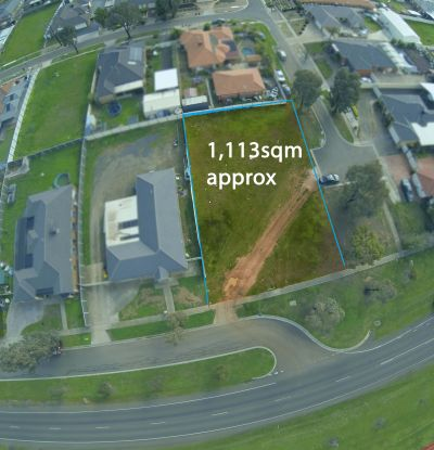 1113m2 (approx) - No Easements!