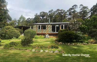 Very private small acreage 25 minutes from Hobart