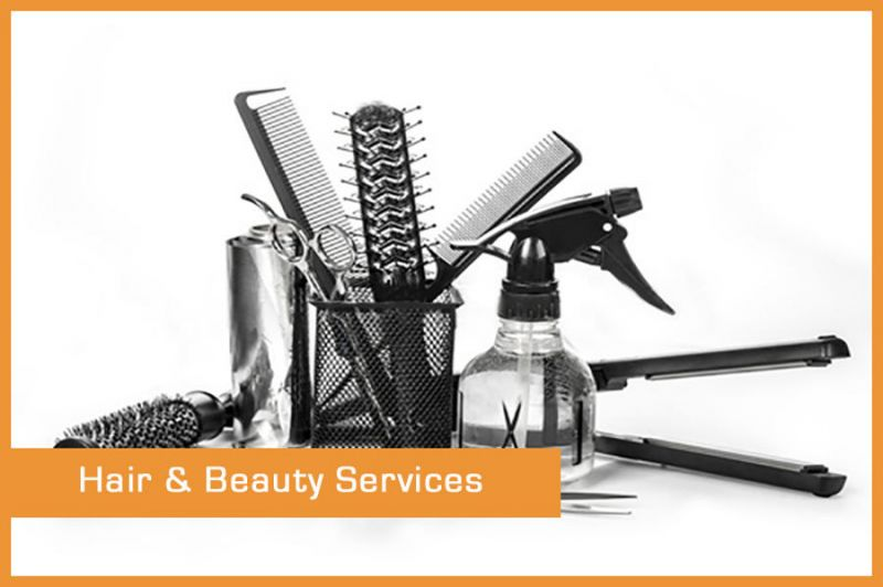 HAIR SALON AND BEAUTY SERVICES...