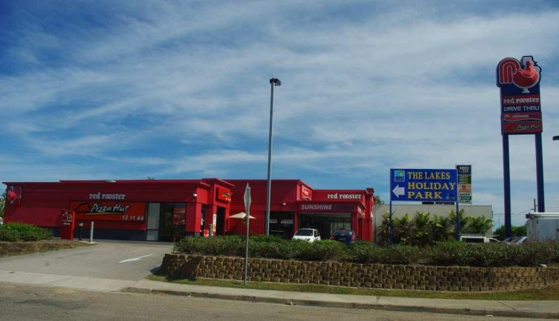 Commercial investment property with national tenants