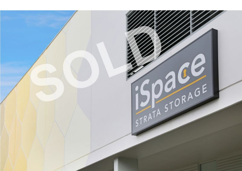 SOLD BY DAMEN ASTEY - 31m² Storage - iSpace Caringbah