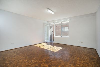 Freshly Painted Two Bedroom Unit with Car Space