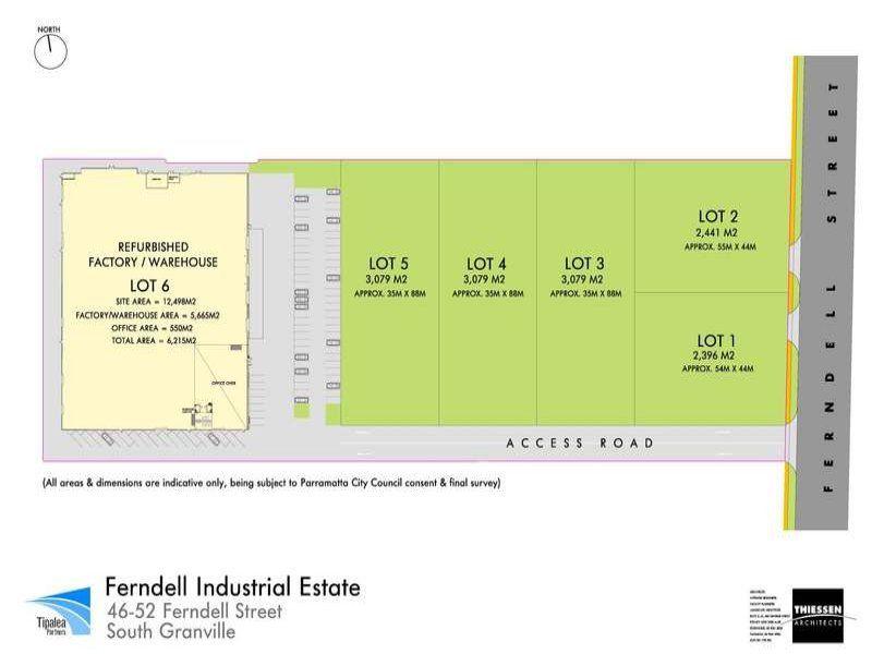 Five Parcels of Industrial Land