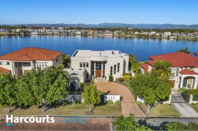 Executive Waterfront Residence with the Widest of Water on 1175 sqm block