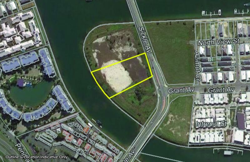 Proposed Waterfront Development With Various Options