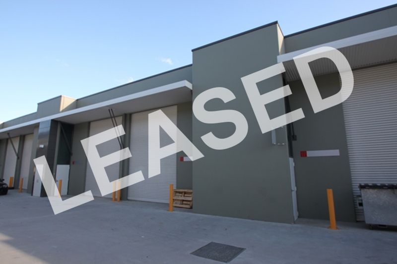 LEASED BY RYAN MCMAHON - TIDY WAREHOUSE IN MODERN COMPLEX