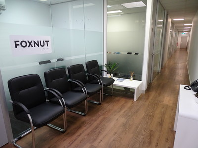 Serviced office space