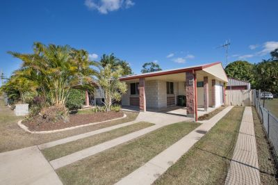 SPACIOUS 4 BEDROOM BRICK HOME WITH LARGE SHED & SOLAR ON 1012M2 BLOCK….