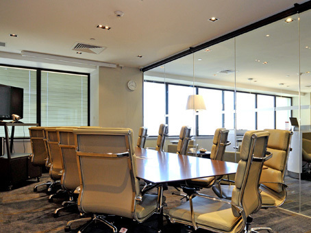Fully furnished office with Swan River views