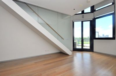 Chevron Green: Double Storey One Bedroom Loft Apartment!