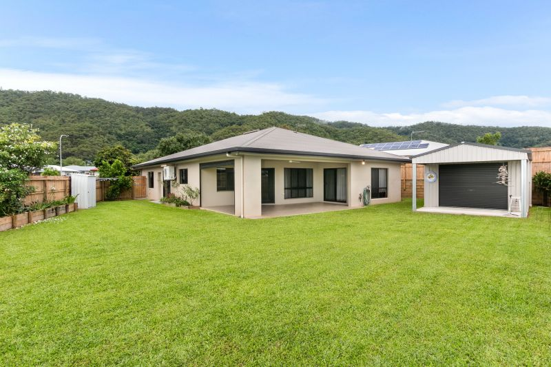 Modern home With Spacious Backyard, Side Access & a Great Shed