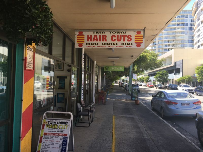 Former Barber Shop Available for Lease