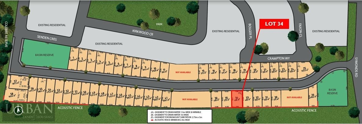 Colebee Lot 34 Proposed Road | Stoneridge Estate